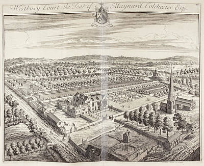 Westbury Court House And Gardens Poster by British Library