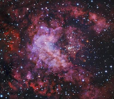 Westerlund 2 Gum 29 Star Cluster Poster