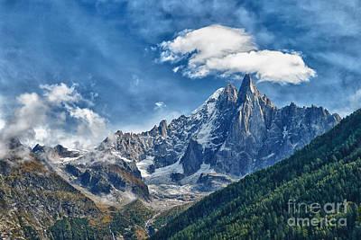 Western Alps In Chamonix Poster