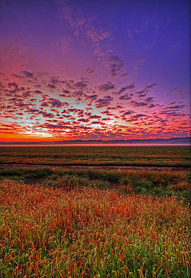 Western Iowa Sunrise Poster