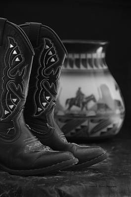 Western Still Life 2 Poster by Kenny Francis