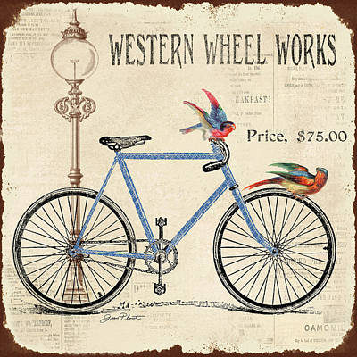 Western Wheel Works Poster