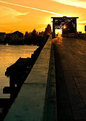 Westham Island Bridge Poster