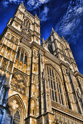 Westminster Abbey West Front Poster