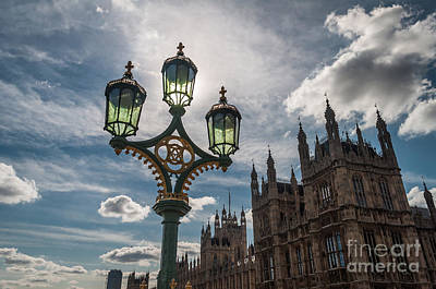 Poster featuring the photograph Westminster by Matt Malloy