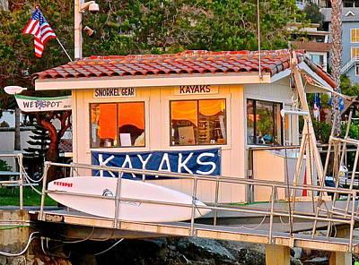 Wetspot Kayak Shack Poster