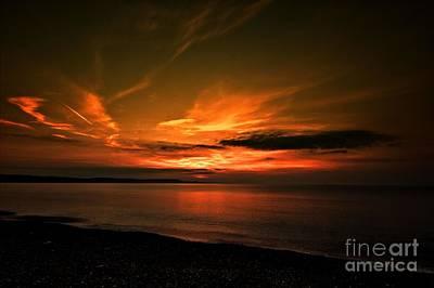 Weymouth  Golden Sunrise Poster by Baggieoldboy