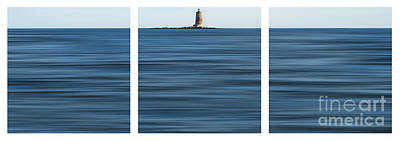 Whaleback Lighthouse Poster by Sabine Jacobs
