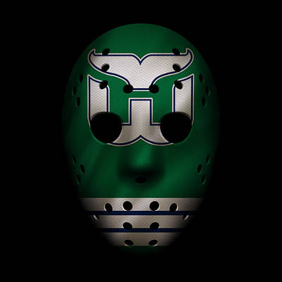 Whalers Jersey Mask Poster