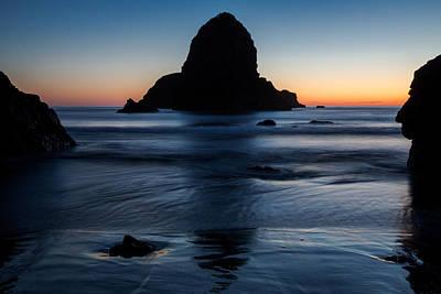Whaleshead Beach Sunset Poster