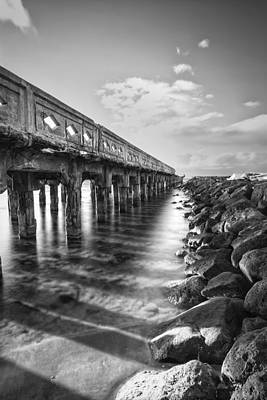 Wharf Poster by Hawaii  Fine Art Photography