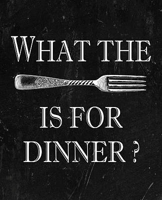 What The Fork Is For Dinner? Poster