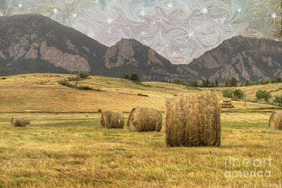 What The Hay Poster by Juli Scalzi