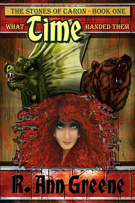 What Time Handed Them - Cover Poster by Michelle Rene Goodhew