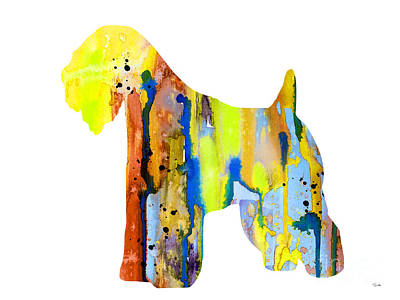 Wheaten Terrier  Poster by Watercolor Girl