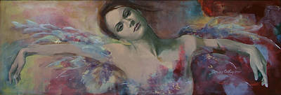 When A Dream Has Colored Wings Poster by Dorina  Costras