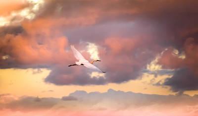 When Heaven Beckons Poster by Karen Wiles