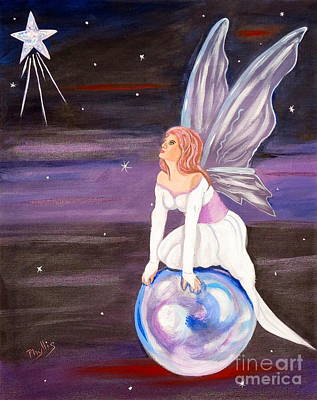Poster featuring the painting When You Dream by Phyllis Kaltenbach