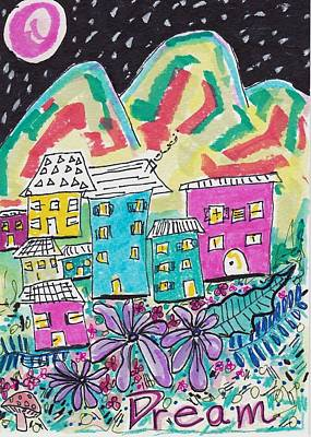 Whimsical Dream Poster by Rosalina Bojadschijew