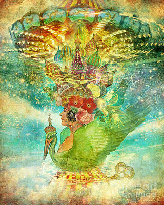 Whirligig Poster by Aimee Stewart