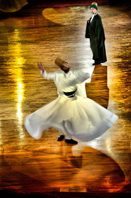 Whirling Dervish - 6 Poster by Okan YILMAZ