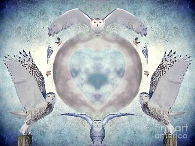 Whispers Of My Imagination Poster by Heather King