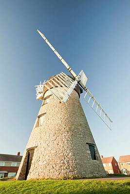 Whitburn Windmill Poster by Ashley Cooper