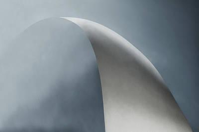 White Bow Poster