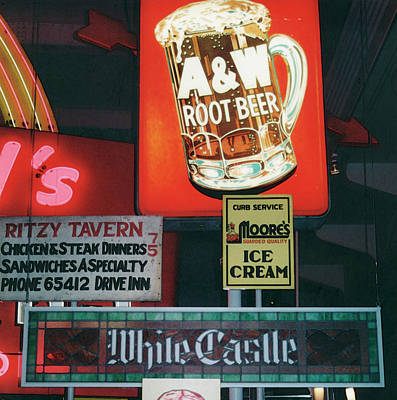 White Castle A And W Poster