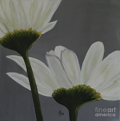 White Cosmos Poster by Christiane Schulze Art And Photography