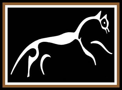 White Horse Of Uffington Poster