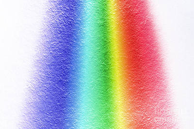 White Light Spectrum, Diffraction Poster by GIPhotoStock