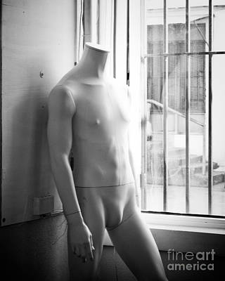 White Mannequin Poster by Sonja Quintero