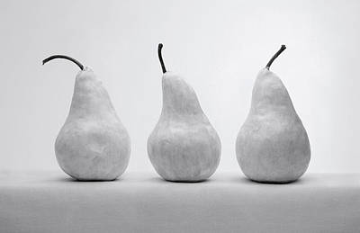 White Pears Poster