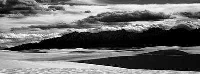 White Sands Nm Panorama Poster