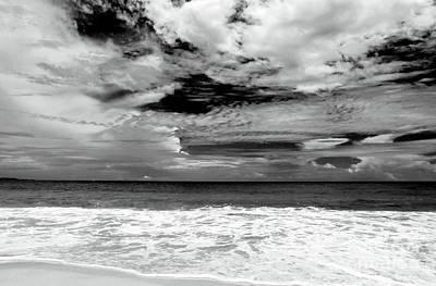 White Water Poster by John Rizzuto