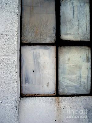 White Window Poster