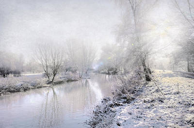 White Winter Poster by Svetlana Sewell