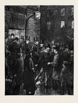 Whitecross Street Prison, London, 1870 Poster