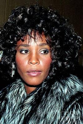 Whitney Houston 1989 Poster