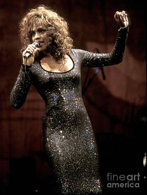 Whitney Houston Poster by Concert Photos