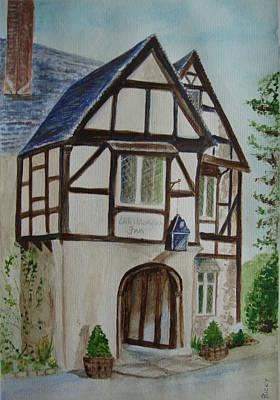 Whittington Inn - Painting Poster by Veronica Rickard