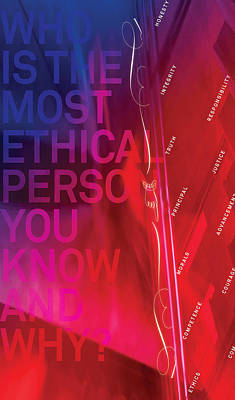 Who Is The Most Ethical Person.1 Poster