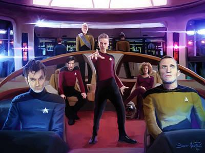 Who Trek Poster