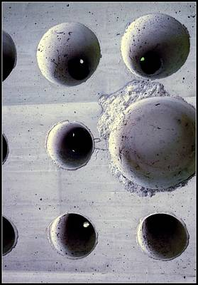 Wholly Holes 4 Poster by Marlene Burns