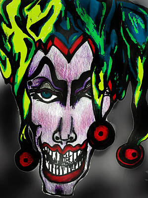 Wicked Jester #2 Poster by Tiffany Selig