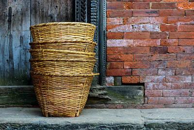 Wicker Baskets Poster
