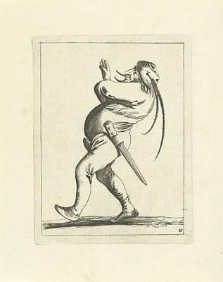 Wielding Fool, Pieter Jansz Poster by Pieter Jansz. Quast And Frederik De Wit