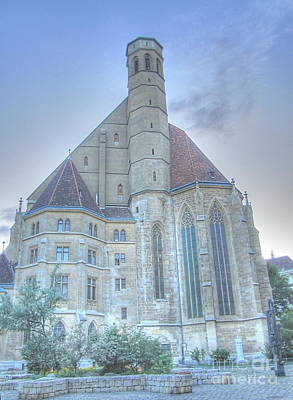 Wienn Cathedral Austria Poster