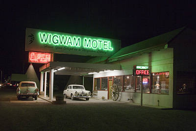 Wigwam Motel In Holbrook Poster